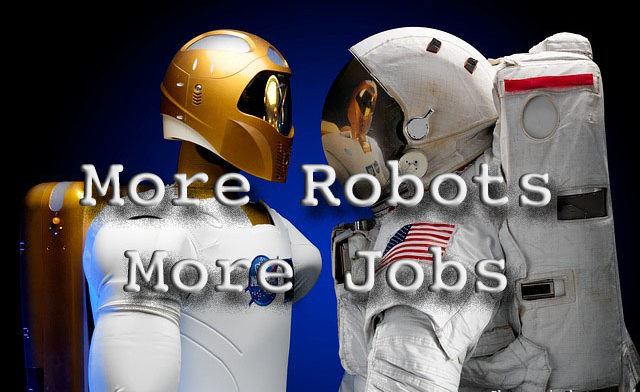 More Robots, More Jobs