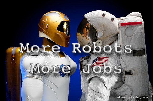 More Robots, More Jobs
